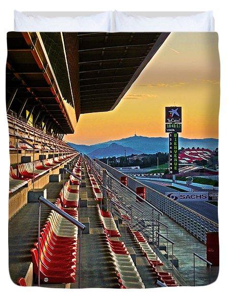 Circuit De Catalunya - Barcelona  Duvet Cover