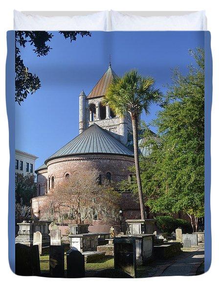 Circular Congregational Chuch 2 Duvet Cover by Gordon Mooneyhan