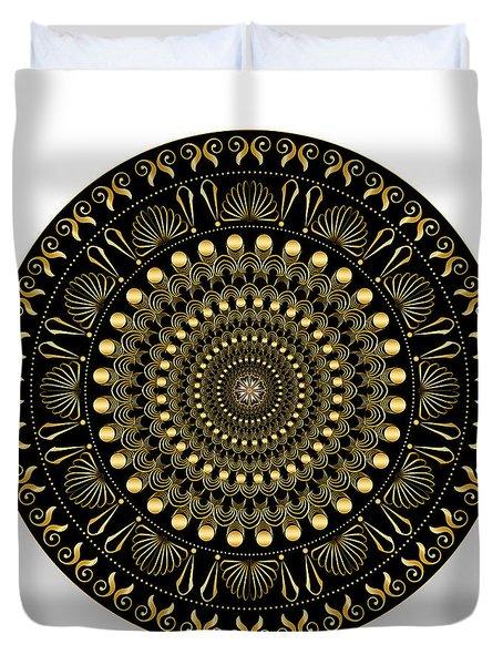 Circularium No. 2544 Duvet Cover