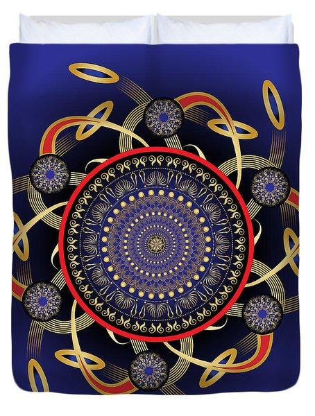 Circularium No. 2572 Duvet Cover