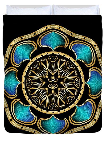 Circularium No. 2574 Duvet Cover