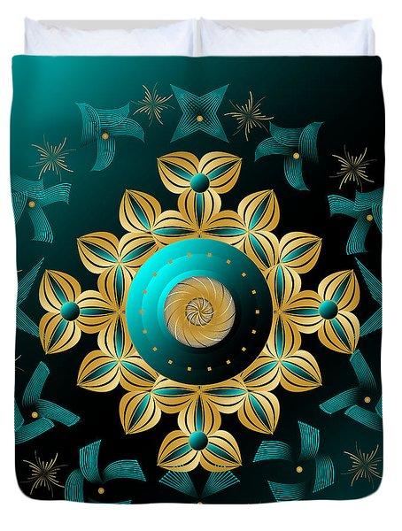 Circularium No 2704 Duvet Cover