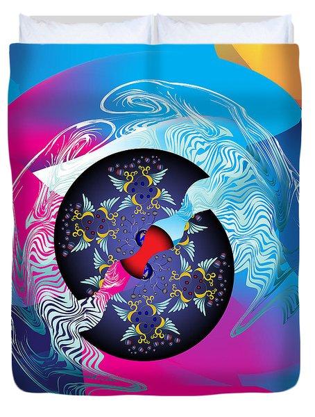 Circularium No 2719 Duvet Cover