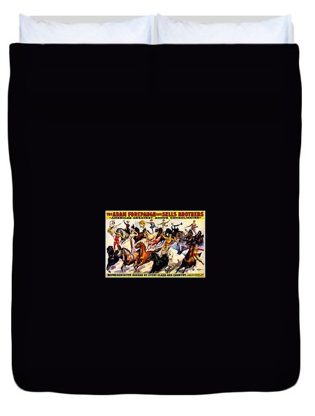 Duvet Cover featuring the photograph Circus by Allen Beilschmidt