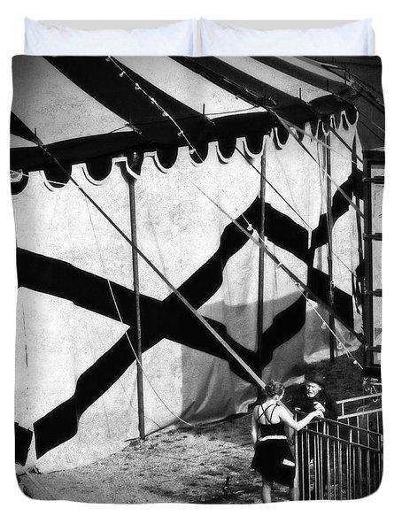 Circus Conversation Duvet Cover