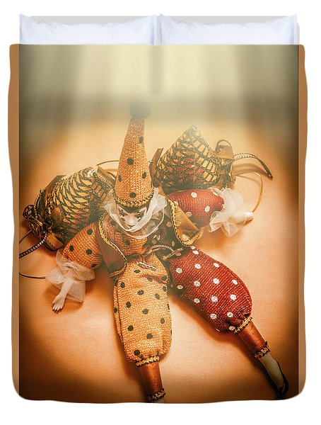Circus Stage Spotlight Duvet Cover