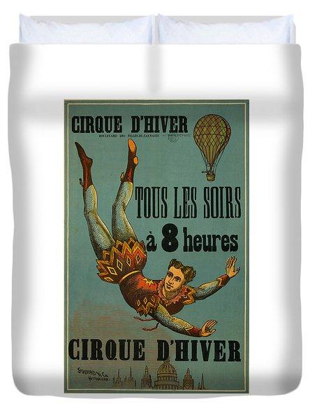 Cirque D'hiver Duvet Cover