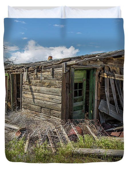Cisco, Utah, Ghost Town Duvet Cover