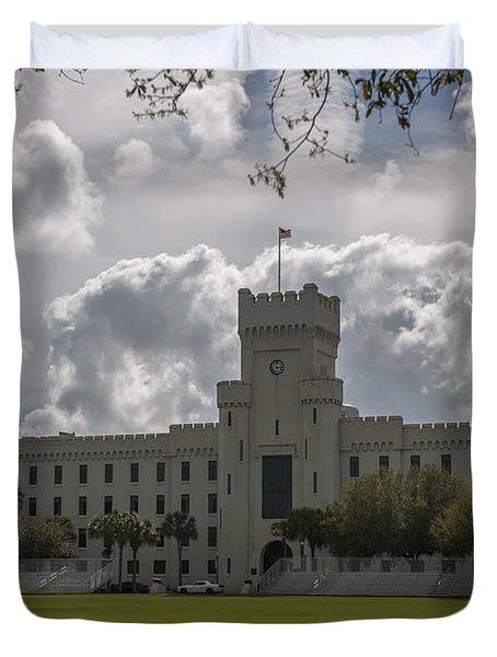 Citadel Military College Duvet Cover