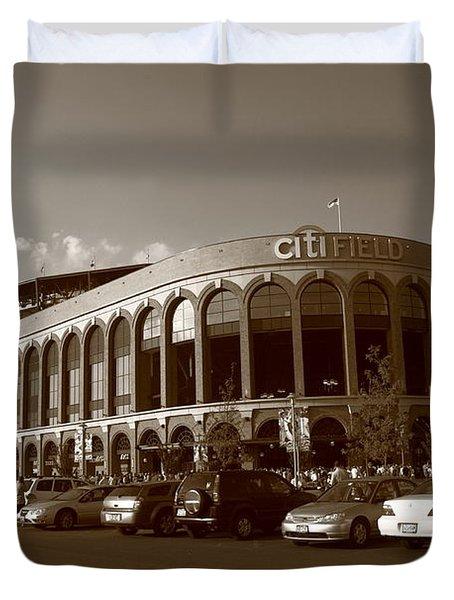 Citi Field - New York Mets 14 Duvet Cover