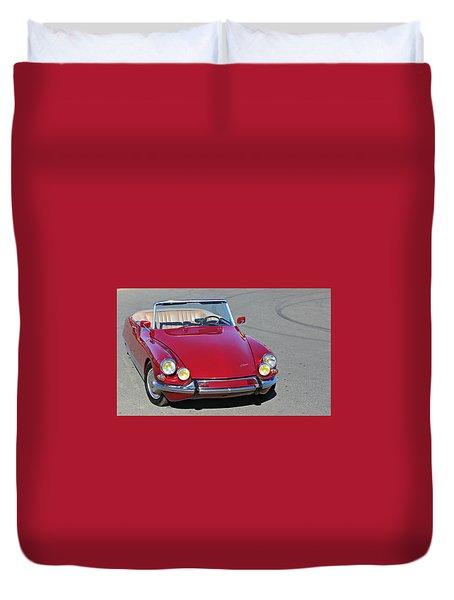 Citroen Ds19 Cabriolet  Duvet Cover