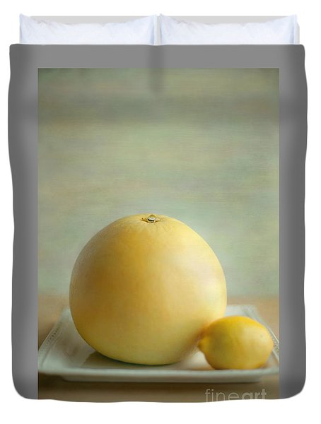 Citrus Brothers Duvet Cover by Aiolos Greek Collections