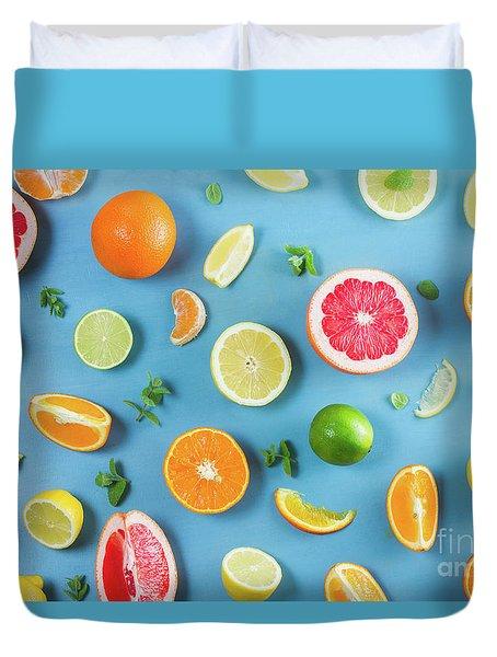 Citrus Summer Duvet Cover