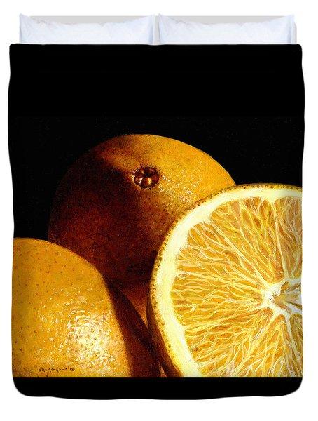 Citrus Sunshine Duvet Cover