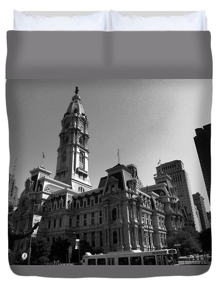 City 2 Duvet Cover