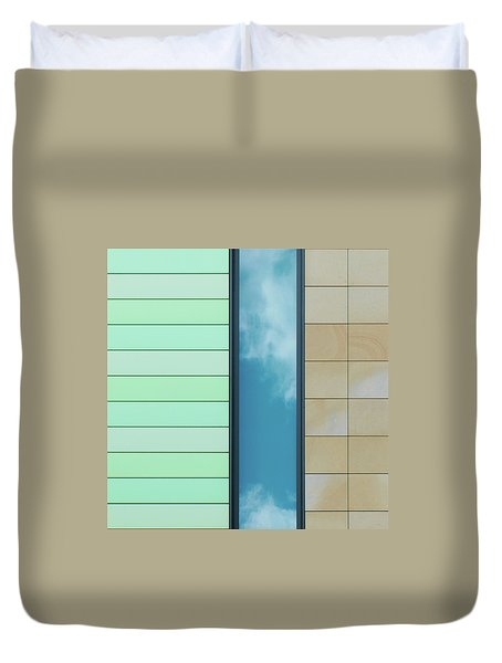 City Abstract Duvet Cover