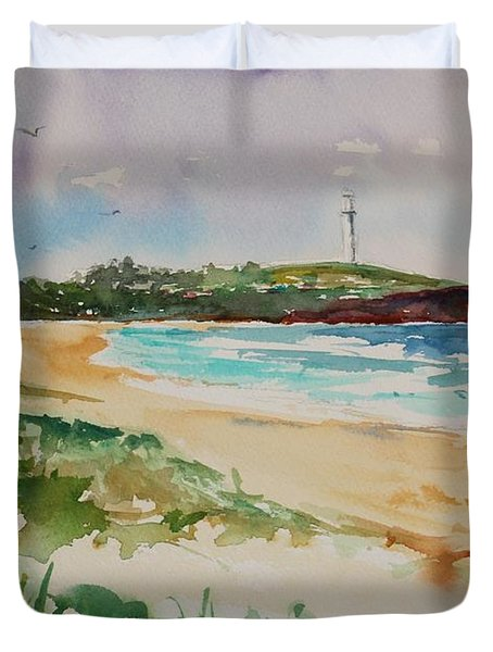 City Beach Duvet Cover