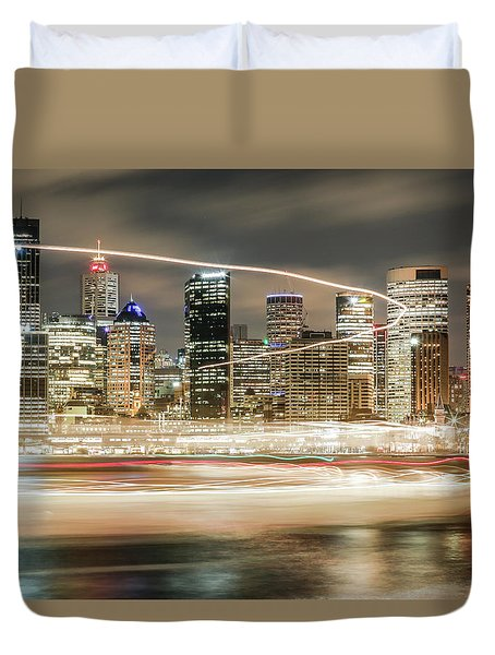 City Blur Duvet Cover