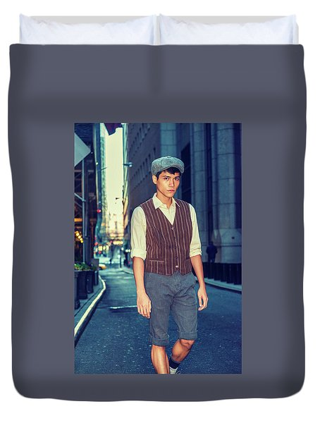 City Boy Duvet Cover