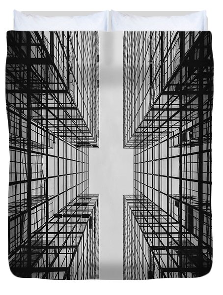 City Buildings Duvet Cover