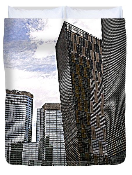 City Center At Las Vegas Duvet Cover
