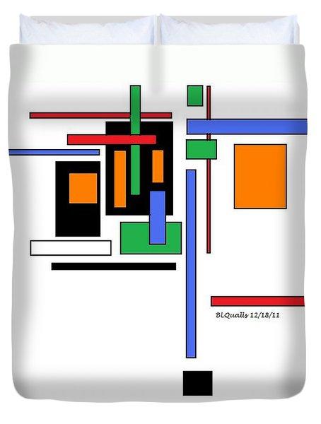 City Colors 2 Duvet Cover by B L Qualls