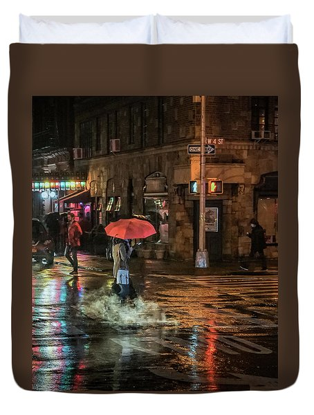 City Colors Duvet Cover by Jeffrey Friedkin