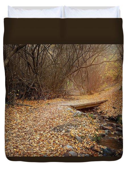 City Creek Duvet Cover