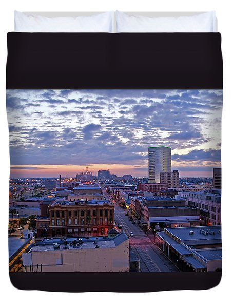 City Dawn Duvet Cover