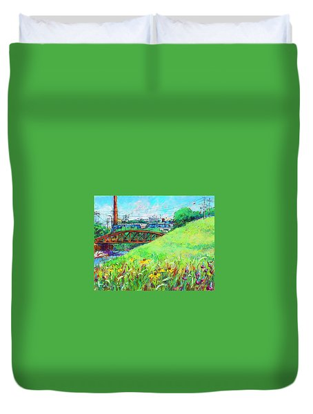 City Fields Duvet Cover