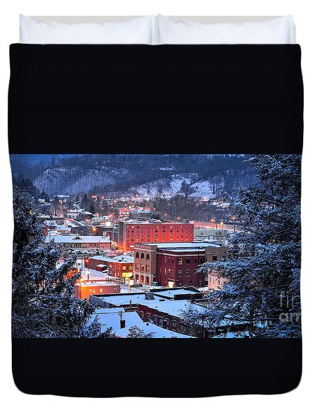 City Glow Duvet Cover