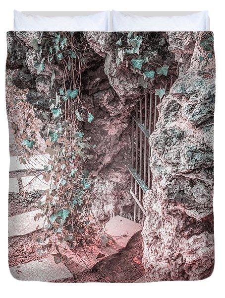 City Grotto Duvet Cover