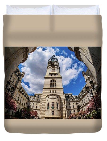 City-hall-philadelphia-photo Duvet Cover