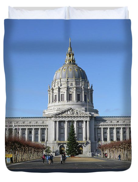 City Hall Duvet Cover
