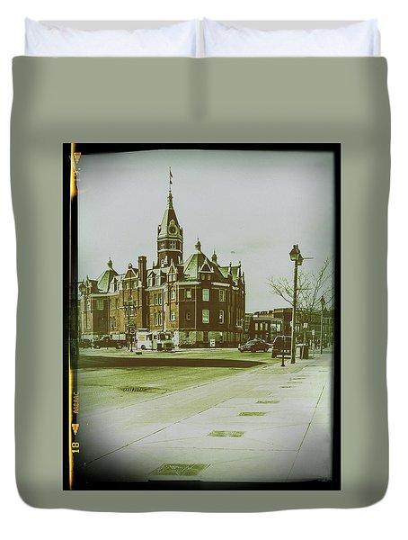 City Hall, Stratford Duvet Cover