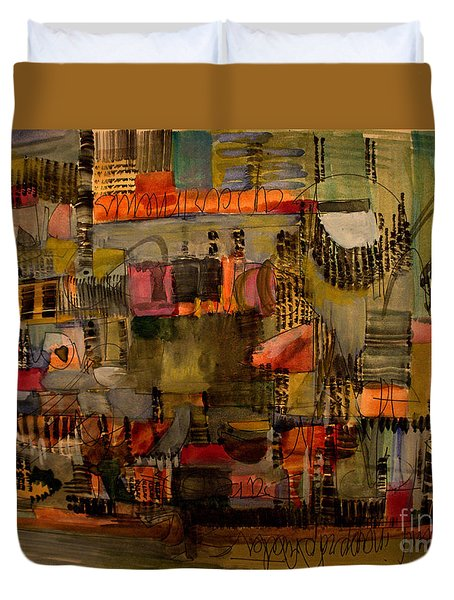Evening Out Duvet Cover