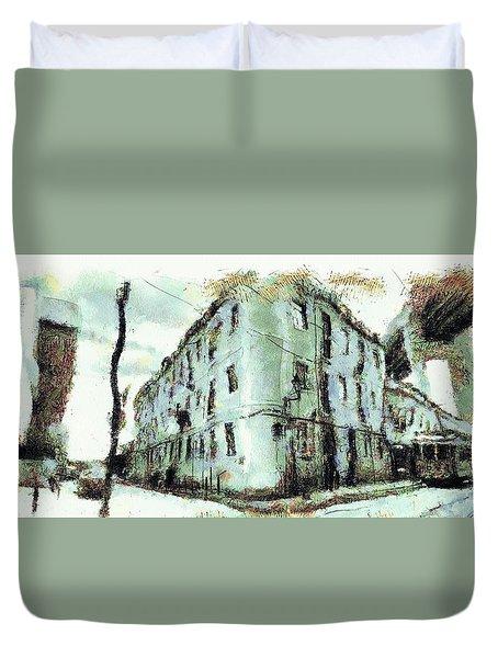 City Life Duvet Cover