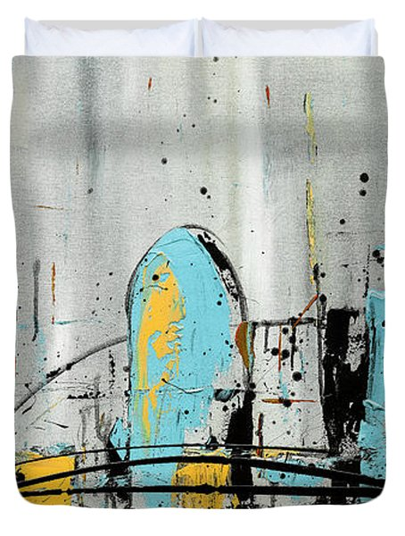 City Limits Duvet Cover