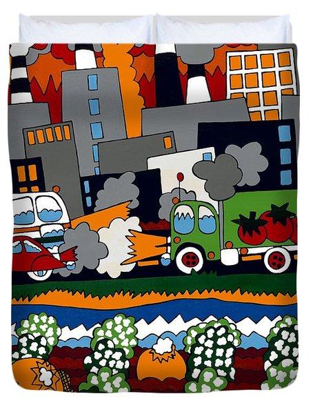 City Limits Duvet Cover