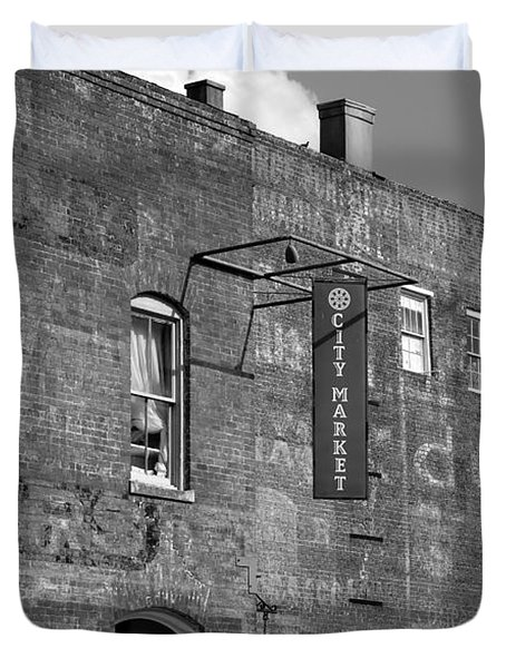 City Market Savannah Duvet Cover by David Lee Thompson