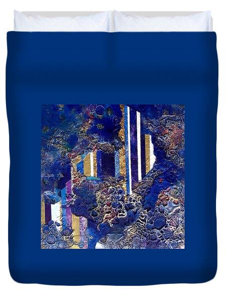 City Mirage Duvet Cover by Lynda Stevens