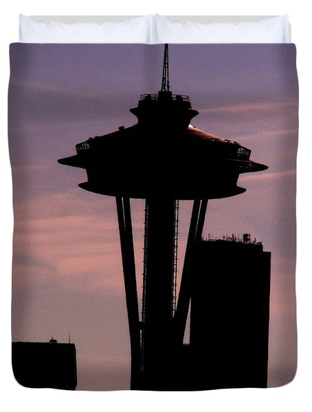 City Needle Duvet Cover by Tim Allen