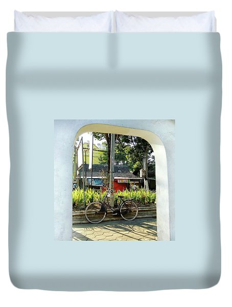 Onthel Bicycle Duvet Cover