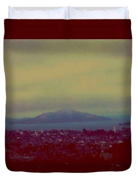 City Of Dream Duvet Cover