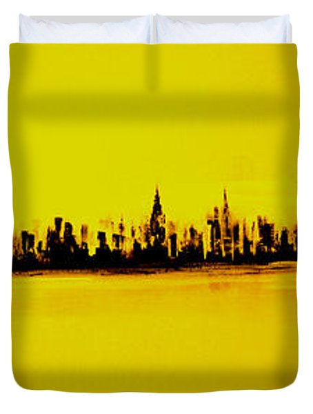 City Of Gold Duvet Cover
