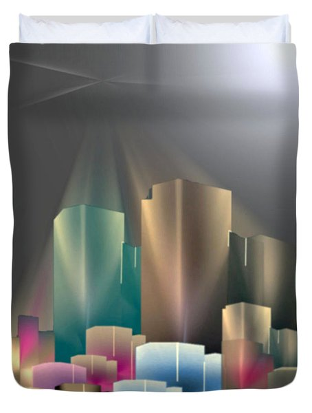 City Of Light 5-2 2016 Duvet Cover
