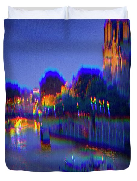 City Of Lights Duvet Cover