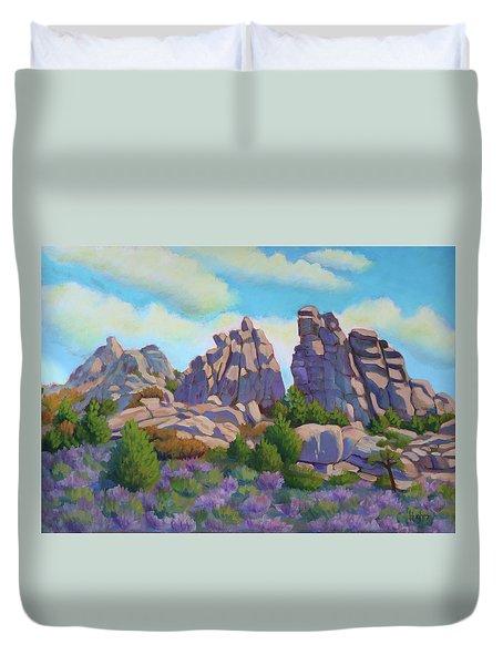 City Of Rocks Duvet Cover