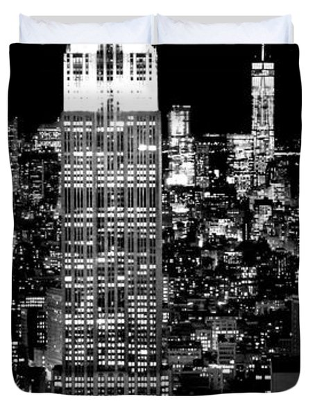 City Of The Night Duvet Cover