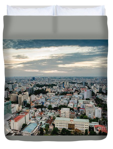 City On High Duvet Cover